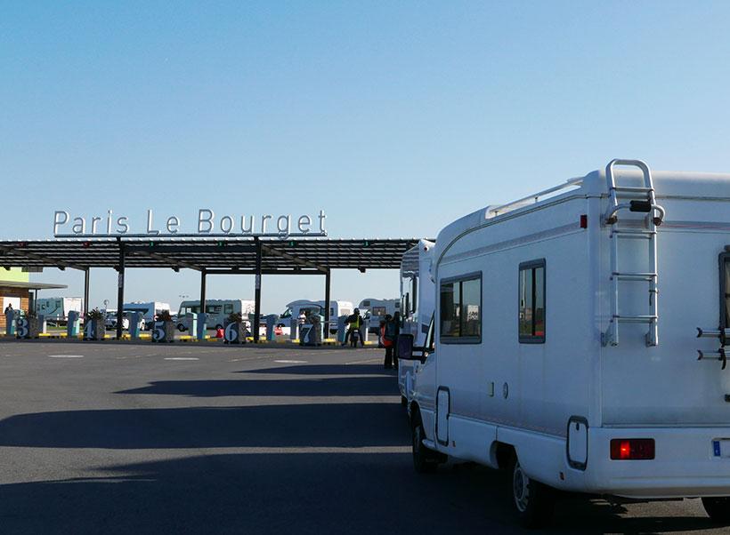 SVDL - Venir avec son camping-car au Salon des Véhicules de Loisirs